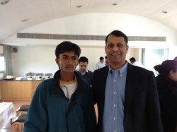 Navghan bhai, a LAMP graduate