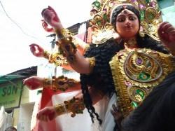 Durga Idol in Kumortuli