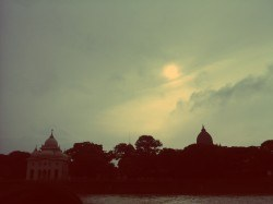 by the ganges  to belur math