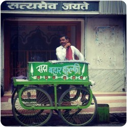 local ice cream kulfi seller
