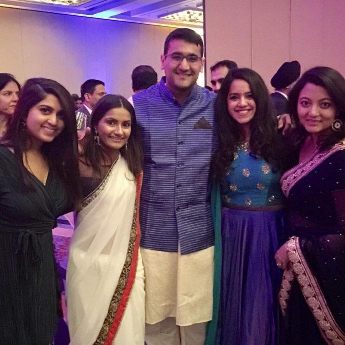 AIF DC Young Professionals, Purvi Sarup, Sailaja Shri, Ritanch Hans, Lippi Doshi, and Shristi Kauffman