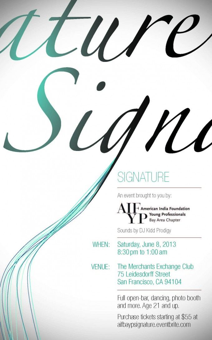 AIFBAYP Signature Flyer