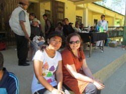 Priscilla, the CHHIP Project Officer, and I