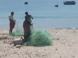 25. Fishermen at their work
