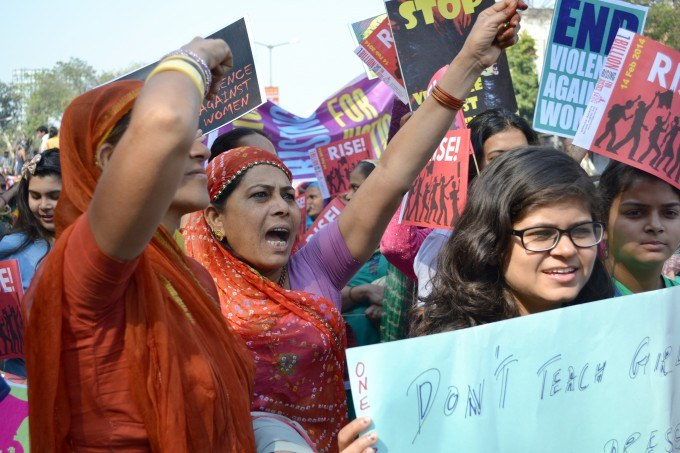 One Billion Rising rally in Ahmedabad