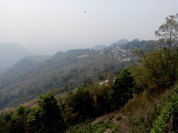 The view from the road between Darj and Kurseong