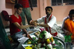 Participation in a religious ceremony at a private Hindu temple? Sure!