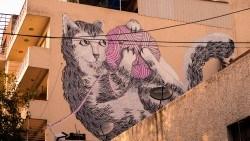 Street Art in Shahpur Jat: Perhaps Delhi wasn't quite as rough as I remember...
