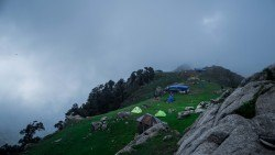 We had to delay our descent of Triund during our endpoint conference, last year, because a cloud formed around us. Dharamsala, Himachal Pradesh - June 2015