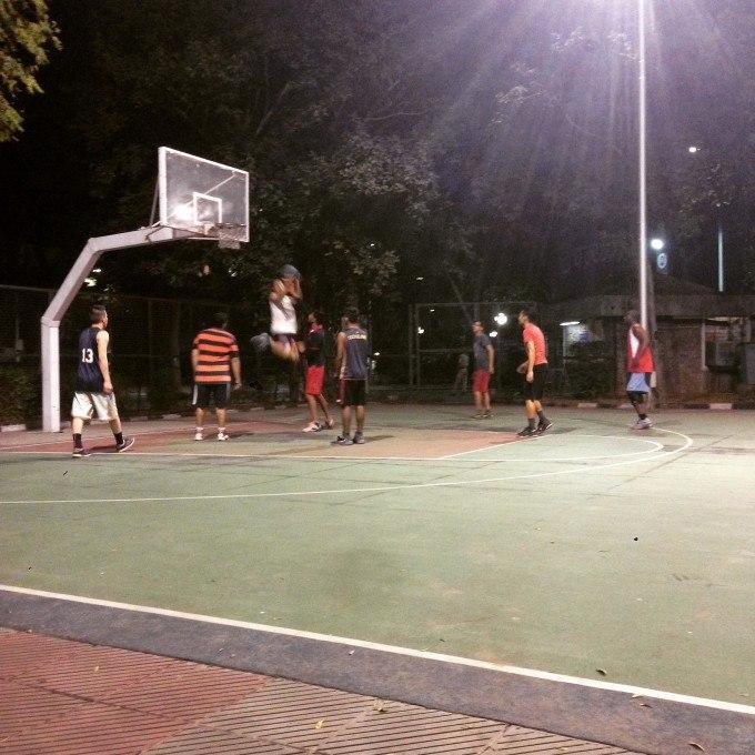 Siri Fort Basketball Courts