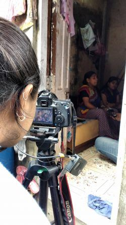 Camera and stories!