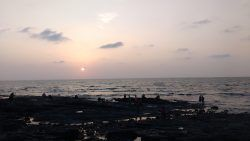 Sunset in Mumbai