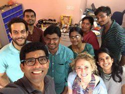 The Bempu team at our office celebrating Ayudha Puja