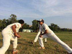 Amar during his practice sessions in Andheri, Mumbai.