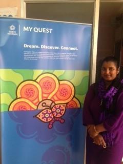 Shuba at Reaching Hand's Pratishtha Center in Kothanur
