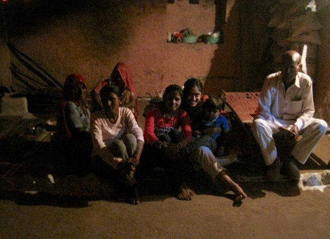 Diwali Dinner with my colleague's family in Kotri