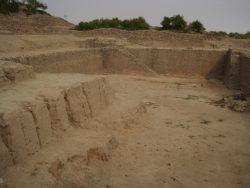 A water reservoir at Dholavira, Kutch Gujarat