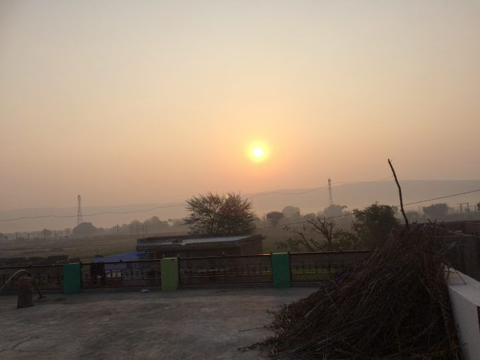 Sunrise in Aamli