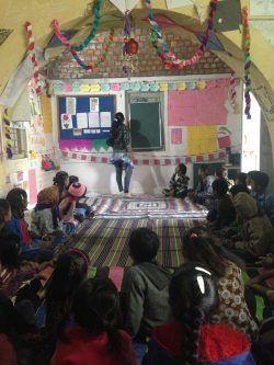 AIF's Learning Resource Centre (LRC) in Navi Bandhadi, Kutch, Gujarat