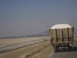 Picture 3- Salt pickup truck on the way to Nawa for salt processing