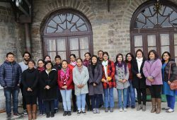 Group photo from Ummeed's Narrative Therapy Workshop in Darjeeling