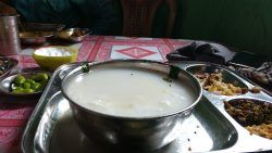 Picture 2: - Pakhal- a traditional Oriya dish.