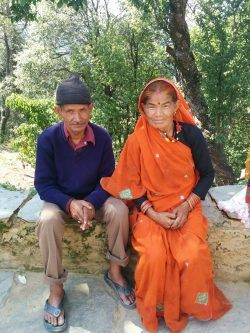 Anandi Ama and her husband