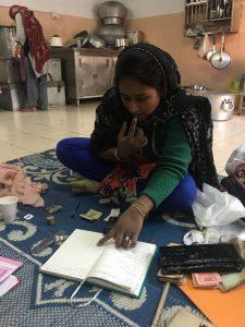Sakina baji and her register