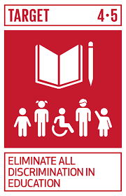 SDG Goal 4 Icon: SDG Goal 4 is to ensure inclusive and equitable quality education and promote lifelong learning opportunities for all.