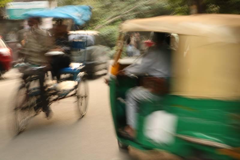 Impressionist Rickshaws