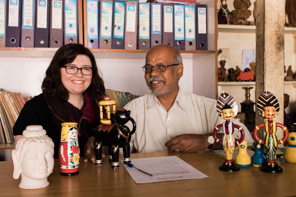 Mr. Bhupathy and Kara Morgan