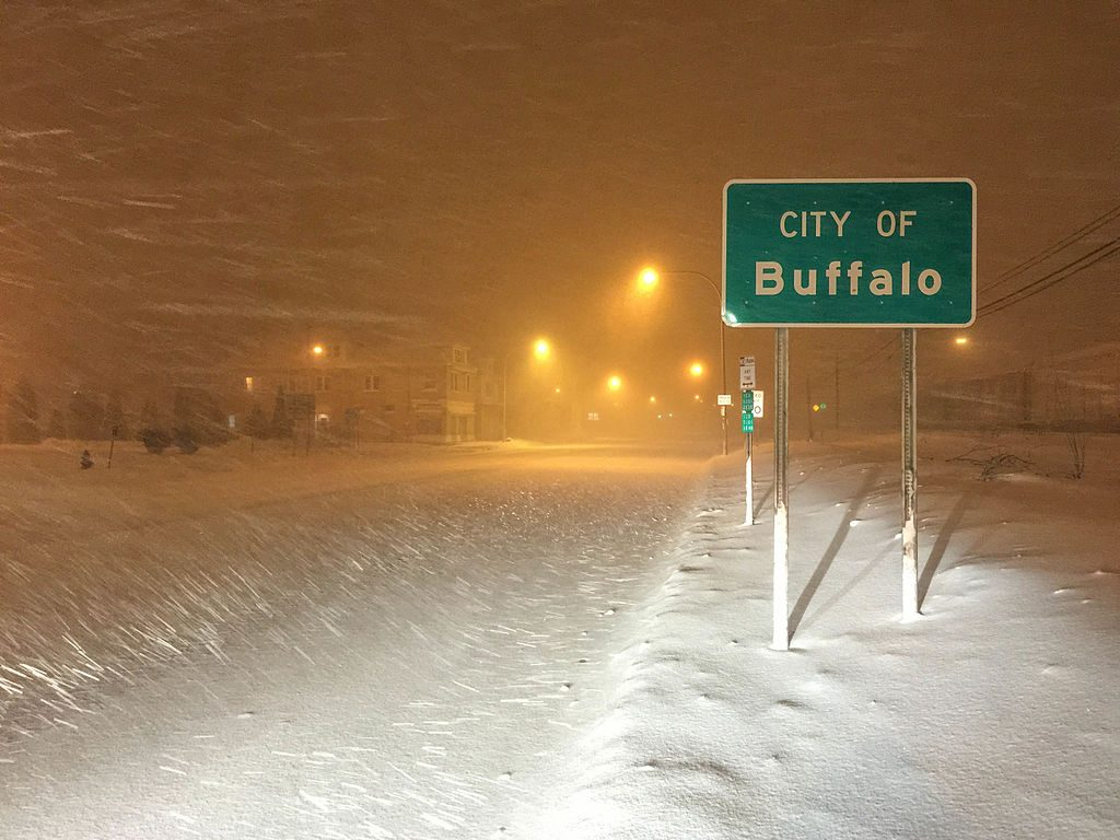 Blizzard in Buffali
