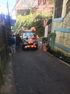 Jeep Puja decorations