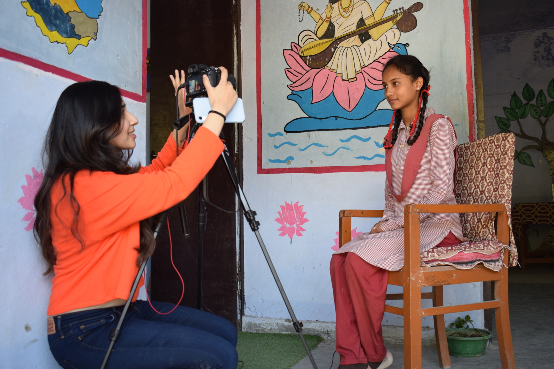An interview with one of the students from a local Dehradun school.