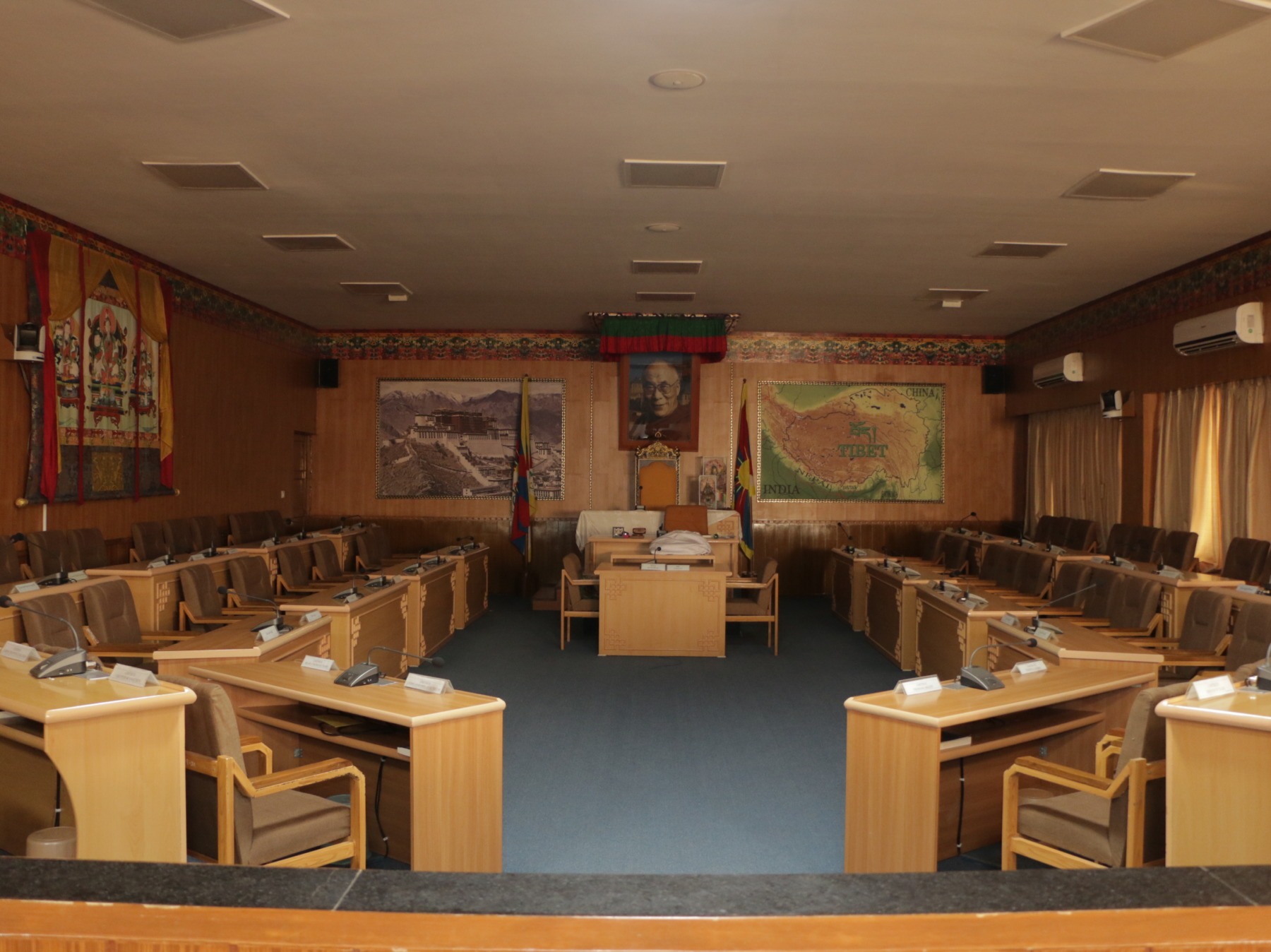 Tibetan Parliament at CTA