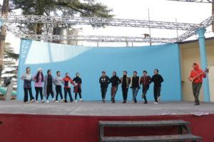 TIPA Artistes practising Tibetan Opera performance