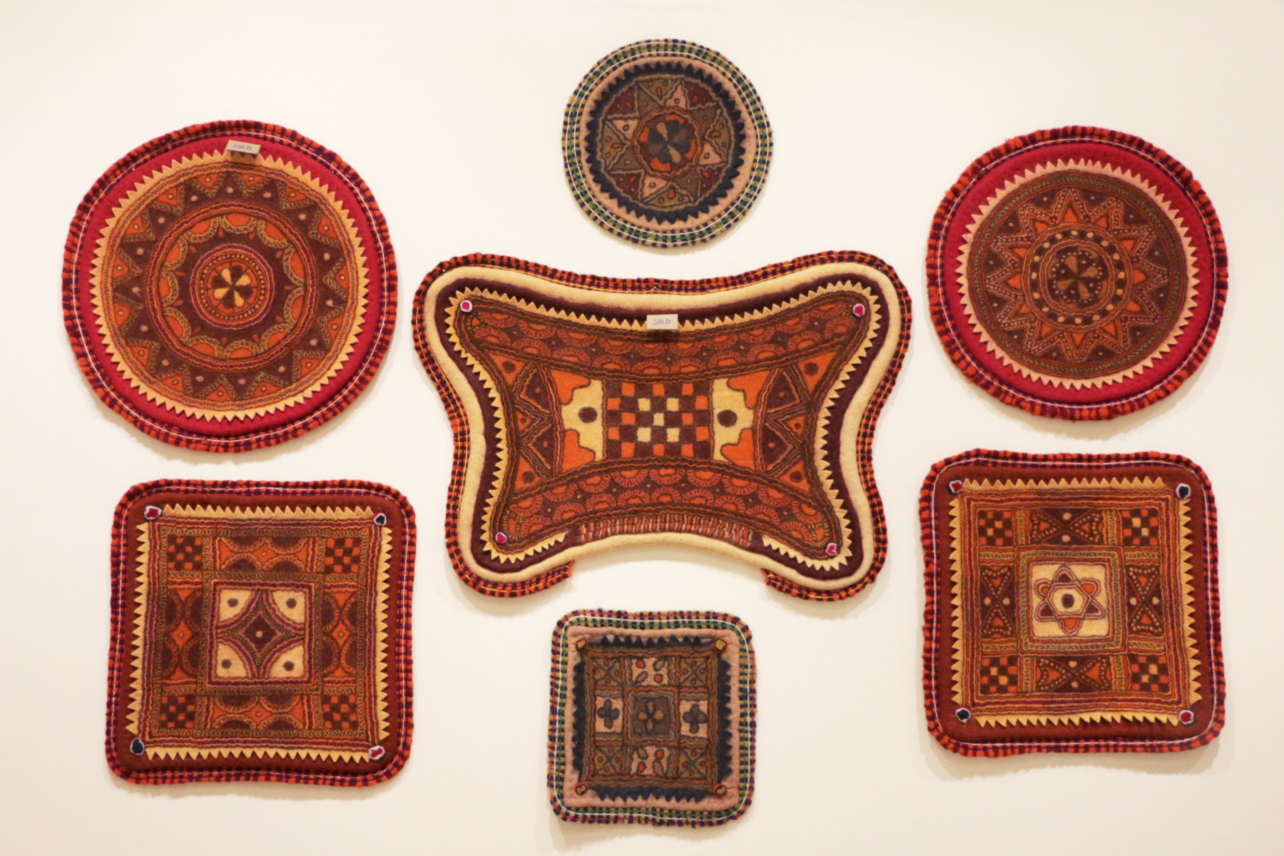 Namda Saddles and mats, exquisite pieces of wall art