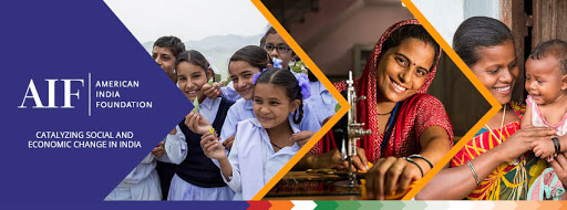 American India Foundation banner: Catalyzing social and economic change in India.