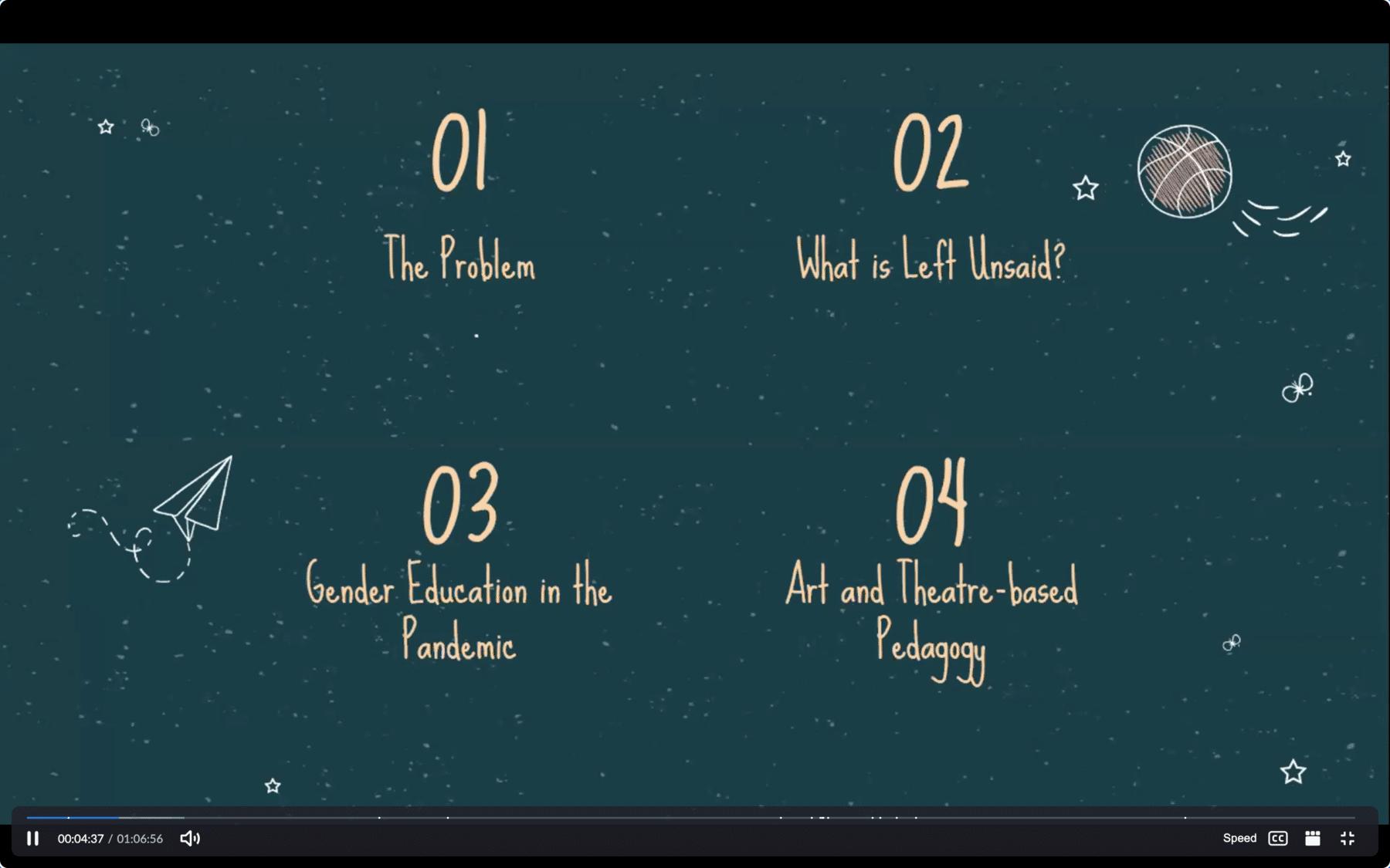 A screen shot from the presentation by Amiya
