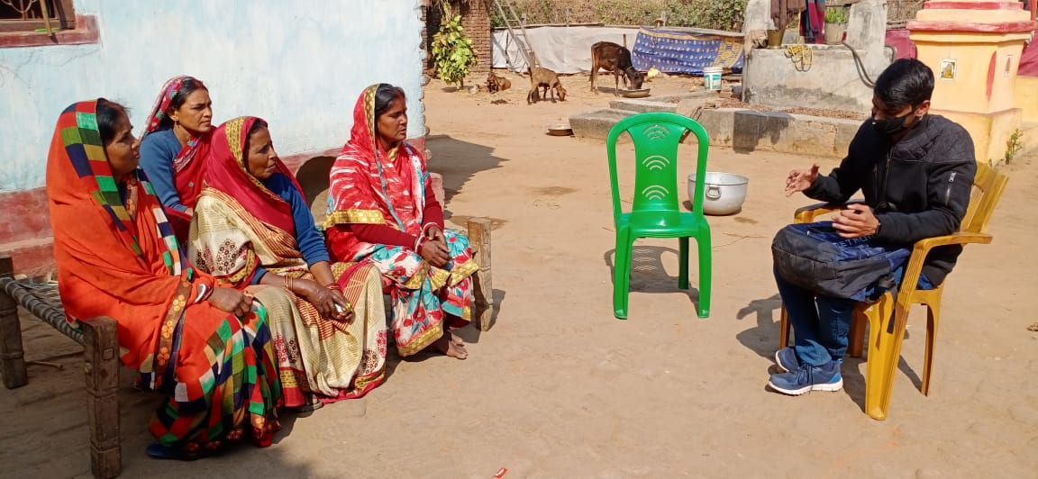 Focused Group Discussion with women farmers in Kujju.
