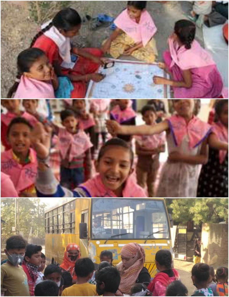 Balsena children participating in various life skills activities